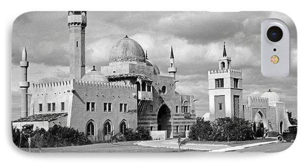 Opa Locka City Hall IPhone Case by Underwood & Underwood