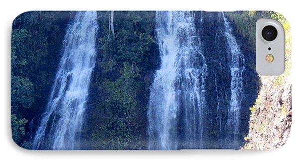 IPhone Case featuring the photograph Opaeka'a Falls by Alohi Fujimoto