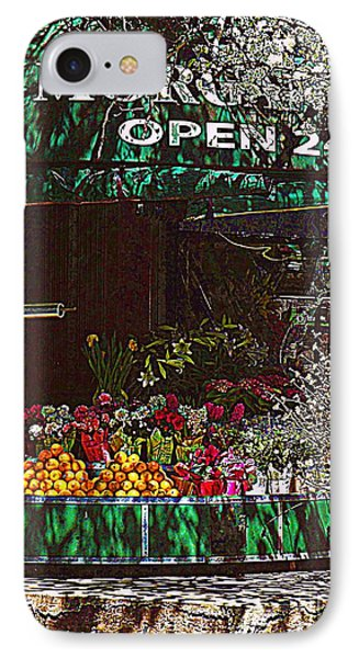 IPhone Case featuring the photograph Open 24 Hours by Miriam Danar