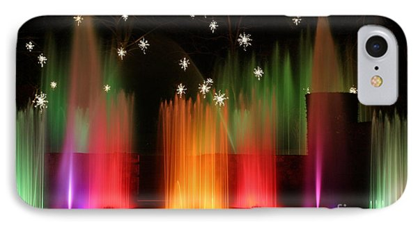 Open Air Theatre Rainbow Fountain IPhone Case