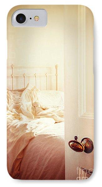 Open Bedroom Door IPhone Case by Amanda Elwell