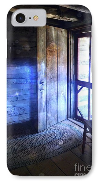 Open Cabin Door With Orbs Phone Case by Jill Battaglia