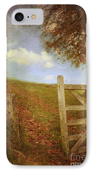 Open Country Gate Phone Case by Amanda Elwell