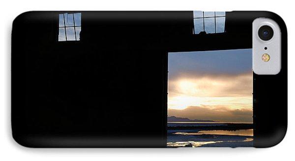 Open Door Sunset - A Great Salt Lake Sunset IPhone Case by Steven Milner