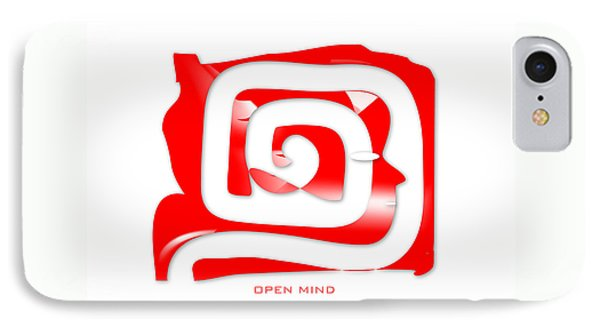 Open Mind IPhone Case by Dana G