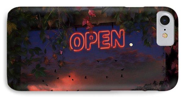 Open Phone Case by Ron Jones