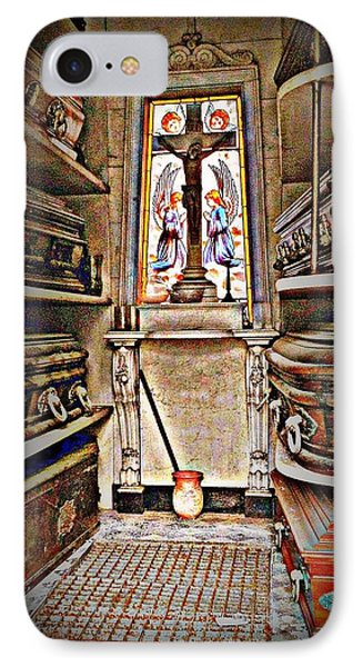 Open Tomb Structure In Buenos Aires IPhone Case by John Potts
