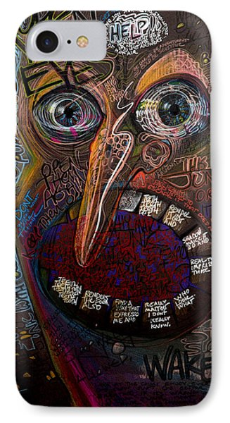 Open Your Eyes IPhone Case by Frank Robert Dixon