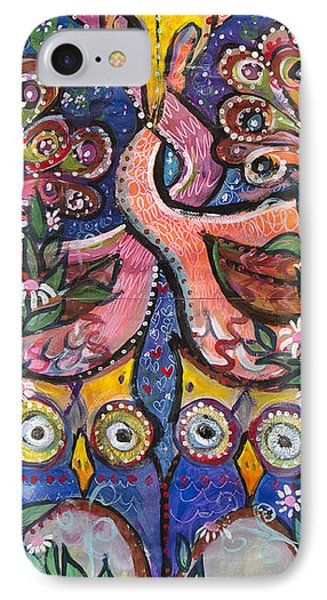 Open Your Heart IPhone Case by Leela Payne