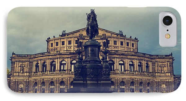 Opera House In Dresden Phone Case by Jelena Jovanovic