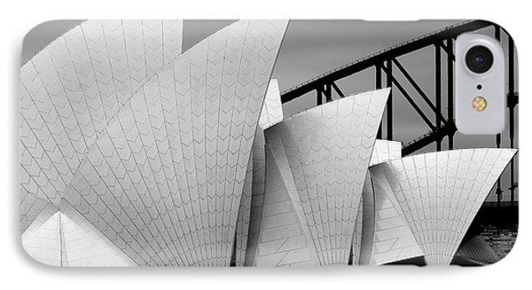 Dragon iPhone 7 Case - Opera House Sydney by Alida Van Zaane