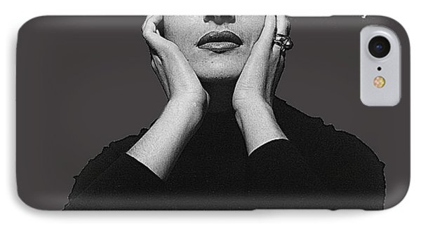 Opera Singer Maria Callas Cecil Beaton Photo No Date-2010 IPhone Case by David Lee Guss