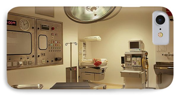 Operating Theatre In Maternity Ward IPhone Case