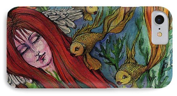 Ophelia Phone Case by Angel  Tarantella