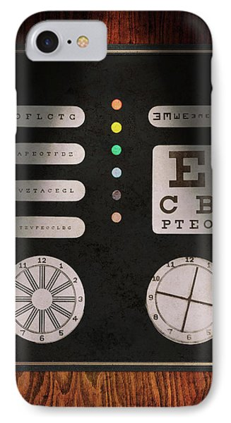 Optometrist - Optical Confusion Phone Case by Mike Savad