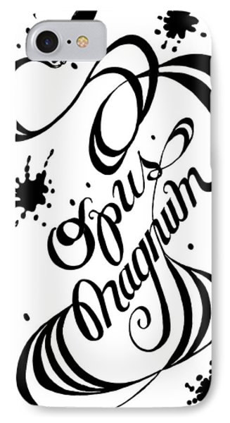 Opus Magnum IPhone Case by Carol Jacobs