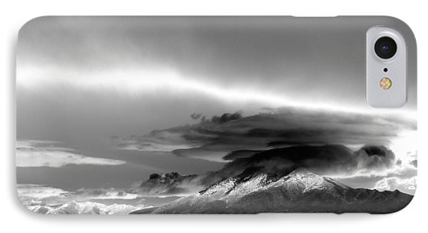 IPhone Case featuring the photograph Oquirrh Range Utah by Ron White