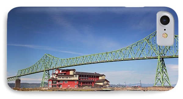 Or, Astoria, Astoria-melger Bridge IPhone Case by Jamie and Judy Wild