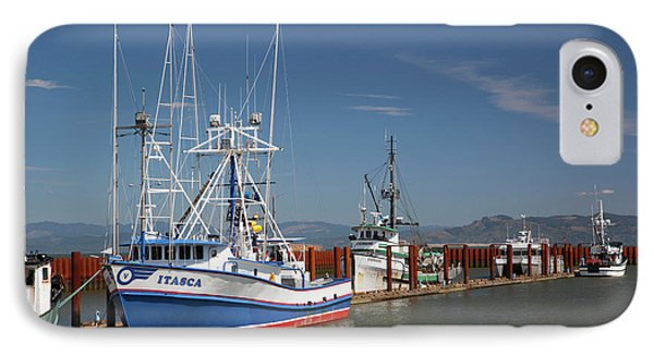 Or,  Astoria, East Basin Moorage IPhone Case by Jamie and Judy Wild