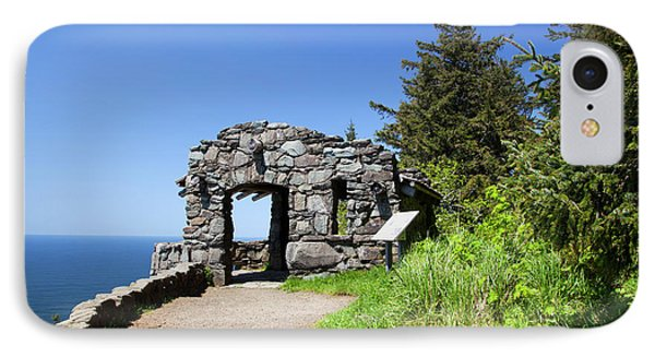 Or, Cape Perpetua Scenic Area, Shelter IPhone Case by Jamie and Judy Wild