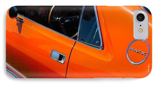 Orange Amx IPhone Case
