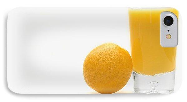 Orange And Orange Juice Phone Case by Darren Greenwood