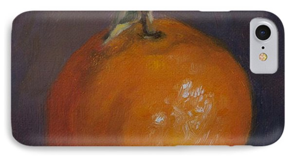 Orange And Plump IPhone Case by Debbie Lamey-MacDonald