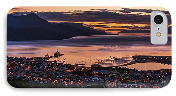 Orange And Purple Pre-dawn Light IPhone Case by Nick Dale
