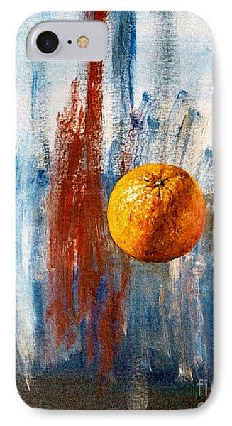 Orange IPhone Case by Arturas Slapsys