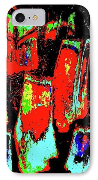 Orange Bark 0001 7 Phone Case by Nina Kaye