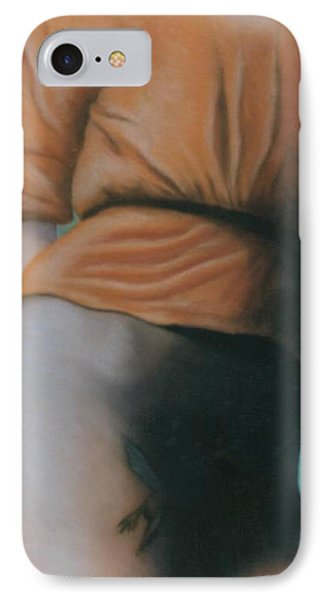 Orange Blouse IPhone Case by Mary Ann  Leitch