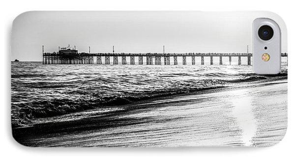 Orange County California Picture Of Balboa Pier  IPhone Case by Paul Velgos