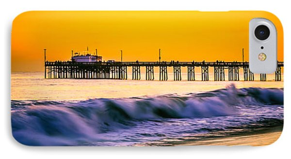 Orange County Panoramic Sunset Picture IPhone Case by Paul Velgos