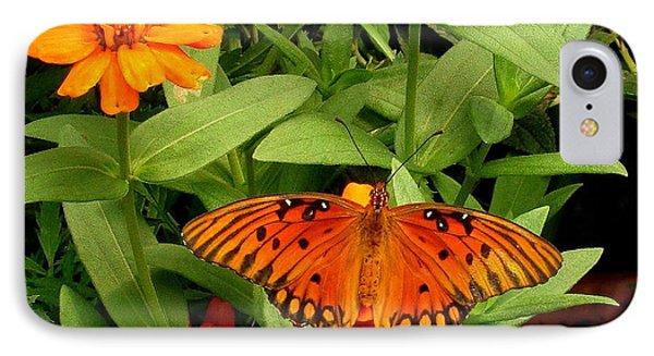 Orange Creatures IPhone Case by Rodney Lee Williams