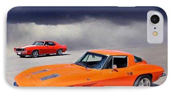 Orange Crush IPhone Case by Christopher McKenzie