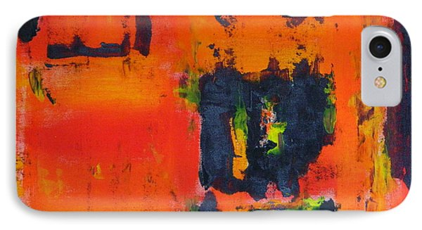 IPhone Case featuring the painting Orange Day by Everette McMahan jr
