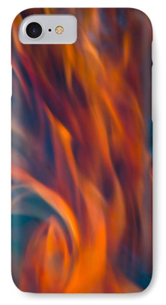 Orange Fire IPhone 7 Case