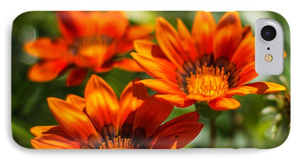 IPhone Case featuring the photograph Orange Flowers by Jane Luxton