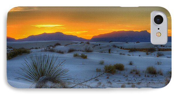 IPhone Case featuring the photograph Orange Glow by Kristal Kraft