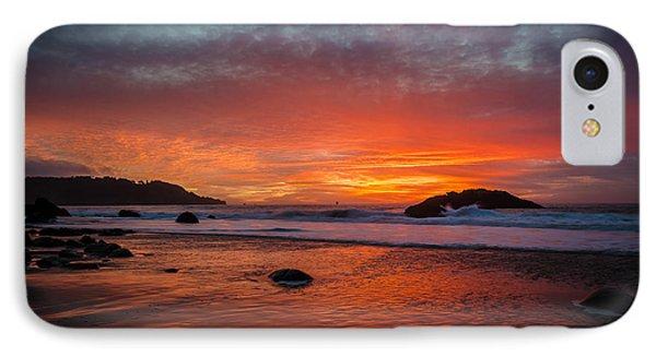 Orange Glow IPhone Case by Linda Villers