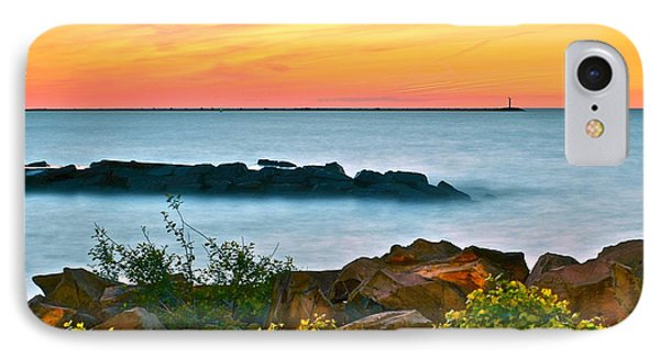 Orange Glow IPhone Case by Frozen in Time Fine Art Photography