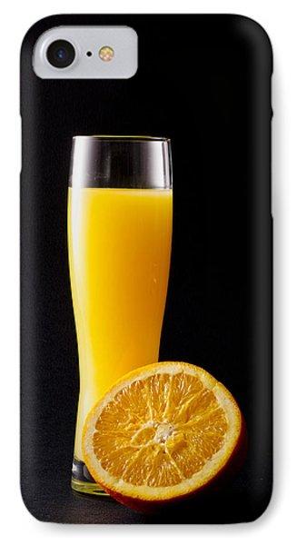 Orange Juice Phone Case by Gergana Chakalova