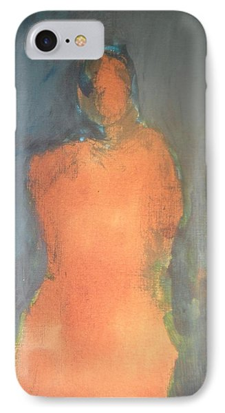 Orange Lady Phone Case by Andrea Friedell