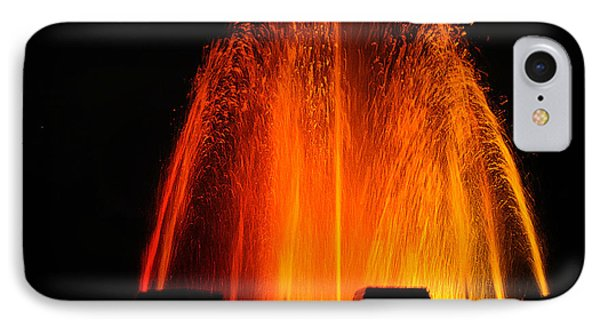 IPhone Case featuring the photograph Orange Lava by Clayton Bruster