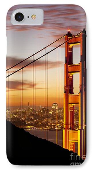 Orange Light At Dawn Phone Case by Brian Jannsen