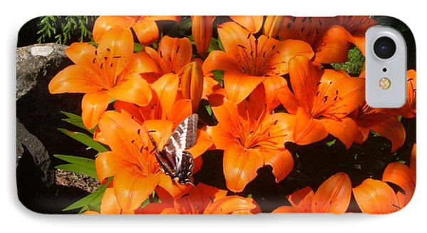 Orange Lilies IPhone Case