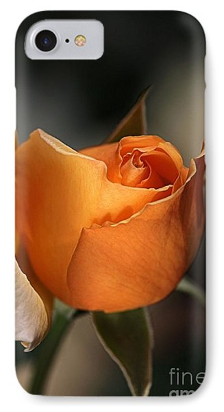 IPhone Case featuring the photograph Orange Mood by Joy Watson