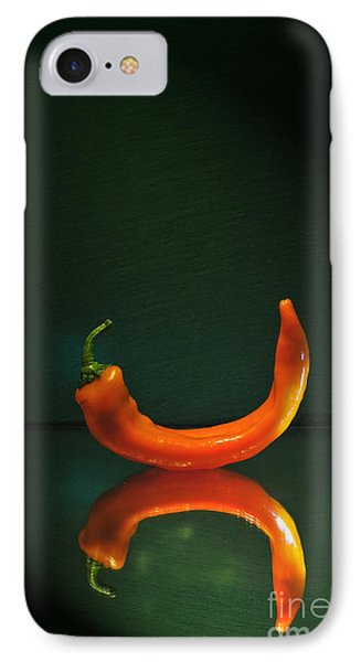 Orange Pepper IPhone Case