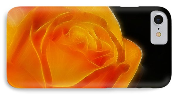 Orange Rose 6308 Phone Case by Gary Gingrich Galleries
