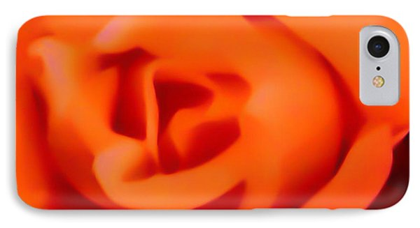 IPhone Case featuring the photograph Orange Rose by Gayle Price Thomas